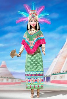 Princess of Ancient Mexico Barbie Doll