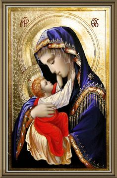 Theotokos and child Jesus