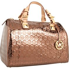 MICHAEL Michael Kors - Jet Set Monogram Grayson Large Satchel