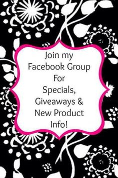 Join my Thirty-One Facebook group - PM me for details! :-) No consultants please.