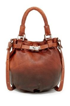 Old Trend Aconitum Satchel Brown Leather Handbags 7382f776990c1