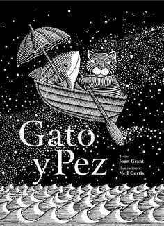 Gato y Pez. Cuento Ilustrado. Neil Curtis (Ilustraciones)