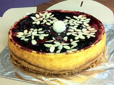Winter cheesecake  This is made by Cheesecake Romania