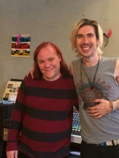Josh and his brother in law, who both are working on ASTORIA!!!! So stoked to hear it!!!