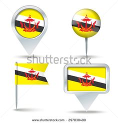 Find Map Pins Flag Brunei Vector Illustration stock images in HD and millions of other royalty-free stock photos, illustrations and vectors in the Shutterstock collection. Thousands of new, high-quality pictures added every day. Map Vector, Brunei, Royalty Free Stock Photos, Flag, Illustration, Pictures, Photos, Science, Illustrations