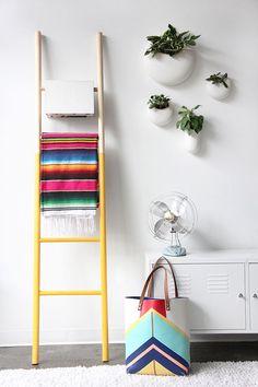 petitecandela: BLOG DE DECORACIÓN, DIY, DISEÑO Y MUCHAS VELAS: #DIY: escalera de madera molona
