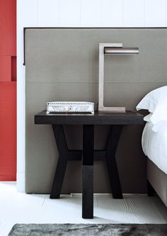 night stand table detail - Nantucket Residence 2 by Christian Liagre