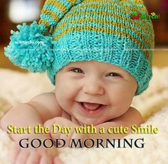 Start the Day with a cute Smile