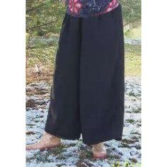 long knit culottes