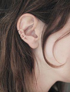 three ring ear cuff - cisthene