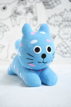 Hey, I found this really awesome Etsy listing at https://www.etsy.com/listing/242342376/t4-eco-friendly-toy-textile-toy-cat