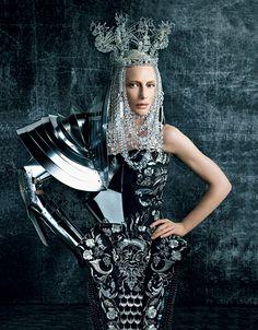 Dior in Vogue shoot