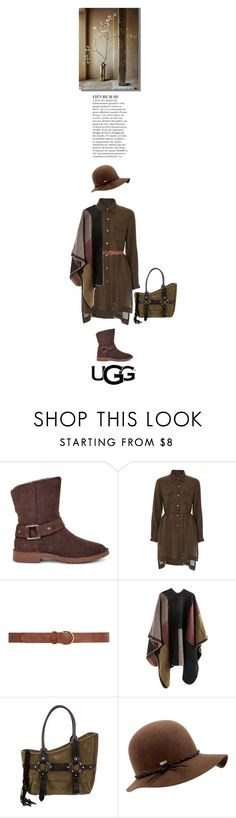 """The New Classics With UGG: Contest Entry"" by alynncameron ❤ liked on Polyvore featuring UGG, Anja, French Connection, Dorothy Perkins, Helmut Lang, Coal, Sabi and ugg"