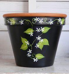 Pots terra cotta flower pots You can land cotta flower pots Flower Pot Art, Flower Pot Design, Flower Pot Crafts, Cactus Flower, Clay Pot Projects, Clay Pot Crafts, Cement Crafts, Terracotta Flower Pots, Clay Flower Pots