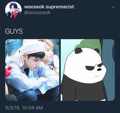 Pentagon Group, Pentagon Wooseok, Kdrama Memes, Fans Cafe, Jung Woo, Cube Entertainment, Kpop, Sky High, Happy Campers