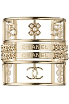 CHANEL CUFF #fashion #jewelry #bracelet