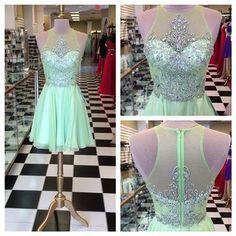 Halter Beading Homecoming Dress,Charming Homecoming Dress,Cheap Homecoming Dress,Homecoming…