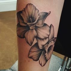 Daffodil tattoo----March birth flower