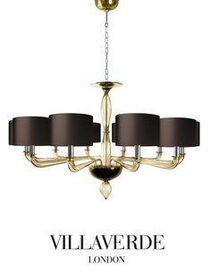 VILLAVERDE Luna Chandelier - www.villaverdeltd.com