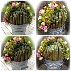 Afbeeldingsresultaat voor bloemwerk met stokken