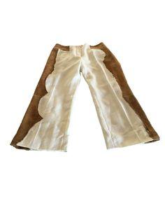 EMANUEL UNGARO  Hose Leinen/ Kalbswildleder Luxury, Pants, Fashion, Suede Fabric, Linen Fabric, Trousers, Trouser Pants, Moda, Fashion Styles