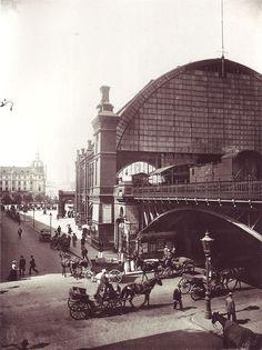 Station Friedrichstrasse 1898 Source by gehape