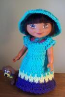 "Spring has Sprung - 15"" doll - Free Original Patterns - Crochetville"