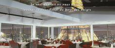 Promotion du nouveau restaurant situé au 10ème étage de l'hôtel Paris Pullman Tour Eiffel