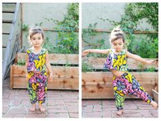 Baby / Toddler Crop Top and Harem Pants African by UltraVioletKids, $70.00