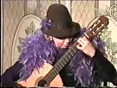 Best woman guitarist Galina Vale plays like this
