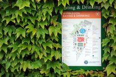 A map showing a list of dining options at this year's Championships. - Neil Tingle/AELTC