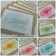Using Irresistably Yours SAB paper www.kreativblogbyclaudi.blogspot.de: Magische Muster