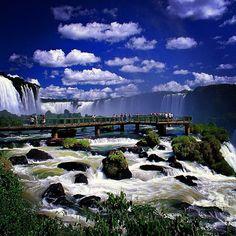 Iguazu Falls, Brazil and Argentina.