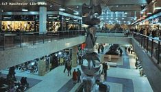 The Arndale Centre, pictured in the early 90s, was home to shops such as Gansgear