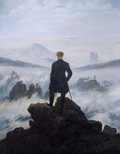 Caspar David Friedrich - Wanderer above the sea of fog - Caspar David Friedrich - Wikipedia
