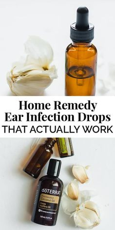 Home Remedy Ear Infection Drops (Garlic Ear Oil As an herbalist, it's my goal to find natural and holistic approaches for the health of my family, community, and myself. Like these home remedy ear infection drops (garlic ear oil). Natural Health Remedies, Natural Cures, Natural Healing, Herbal Remedies, Natural Treatments, Cold Remedies, Holistic Remedies, Holistic Healing, Bloating Remedies