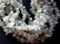 New Jade Chip Beads Gemstone Beads Craft by CatsBeadKitsandMore