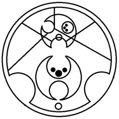Bad wolf (in Gallifreyan)