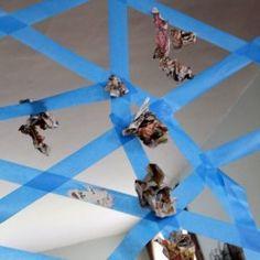 Halloween Activity: A Sticky Spider Web