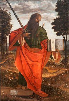 Saint Paul, by Vittore Carpaccio, Chiesa di San Domenico, Chioggia.