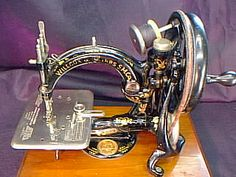 Willcox & Gibbs antique sewing machine.