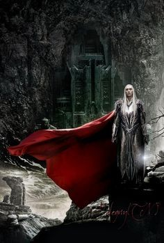 "Thranduil… the Elves of Mirkwood: ""less wise but more dangerous."""