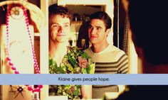 Klaine gives me life and fills my heart with more happiness than I ever thought a fictional couple could...