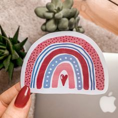 This is my handmade and waterproof Vinyl-Sticker Sticker Shop, Art Drawings Sketches, Pencil, Rainbow, Stickers, Vintage, Handmade, Shopping, Etsy