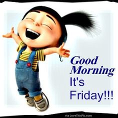 It's Friday. Good morning beautiful peeps. Have a fab day.  #goodmorning #itsfriday #letsdothis #follow #twitter