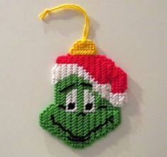 Grinch Christmas ornament by AngelInc on Etsy