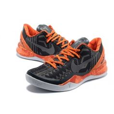 5081b4a7b55 Nike Kobe 8 Orange and black Kobe Shoes