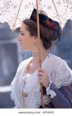 fete du costume provencal in Arles Provence France Stock Photo
