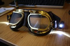 Orbital-Steampunk Goggles – Craig Pay