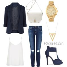 Untitled #37 by pao-xox on Polyvore featuring polyvore fashion style River Island Monsoon AG Adriano Goldschmied Mulberry Michael Kors Gorjana